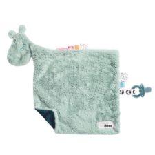 Raffi blå, gosig snuttefilt Done by Deer Comfort blanket Raffi blue