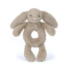 Jellycat Bashful Beige Bunny Grabber mjuk skallara