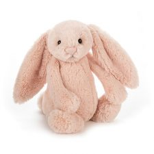 Jellycat Bashful Blush Bunny Small gosedjur kramdjur rosa kanin