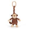 Jellycat Cordy Roy Monkey Jitter barnvagnshänge