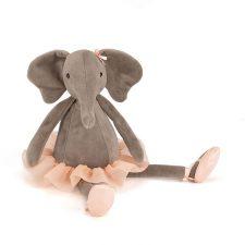 Jellycat Dancing Darcey Elephant kramdjur gosedjur