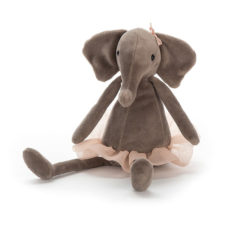 Jellycat Dancing Darcey Elephant small gosedjur kramdjur elefant med tyllkjol