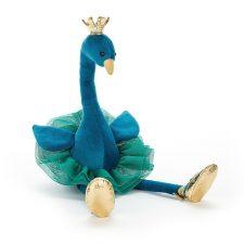 Jellycat Fancy Peacock gosedjur mjukdjur kramdjur påfågel