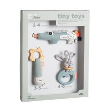 Presentförpackning med aktivetsleksaker Done by Deer Tiny activity toys gift set