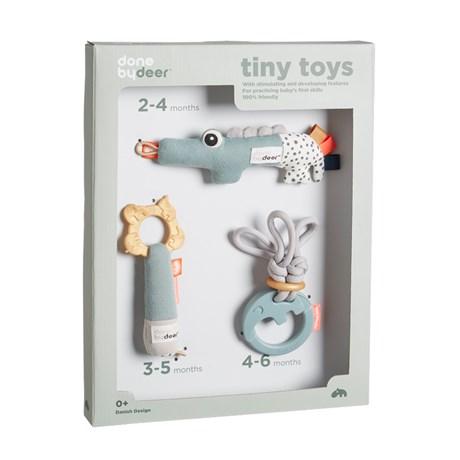 Presentförpackning med aktivetsleksaker Done by Deer Tiny activity toys gift set