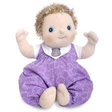 Rubens Baby Emma, mjuk handgjord docka