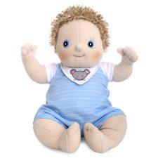 Rubens Baby Erik, mjuk handgjord docka