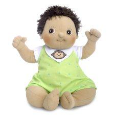 Rubens Baby Max, mjuk handgjord docka