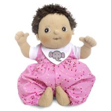 Rubens Baby Molly, mjuk handgjord docka