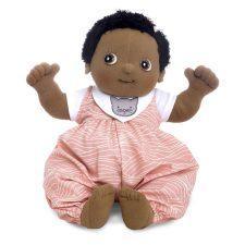 Rubens Baby Nora, mjuk handgjord docka