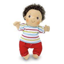 Rubens Cutie Charlie en mjuk handgjord docka