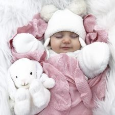 Ruffle Blanket Pink