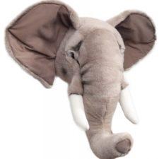 Elefanthuvud brigbys djurhuvud