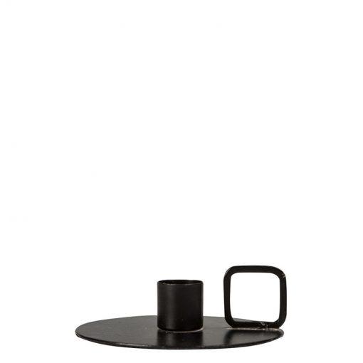 Ljusstake Art svart, från svenska ByON design