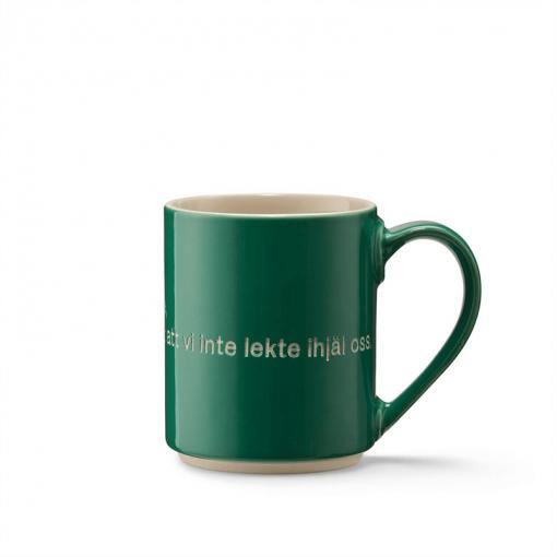 Astrid Lindgren Mugg mörk grön