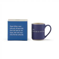 Astrid Lindgren Mugg och låda blå