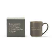 Astrid Lindgren Mugg och låda grå