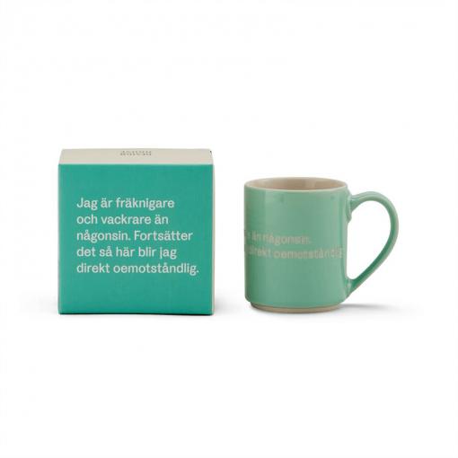 Astrid Lindgren Mugg och låda grön