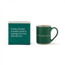 Astrid Lindgren Mugg och låda mörk grön