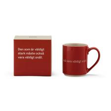 Astrid Lindgren Mugg och låda röd