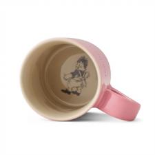 Astrid Lindgren Mugg rosa botten