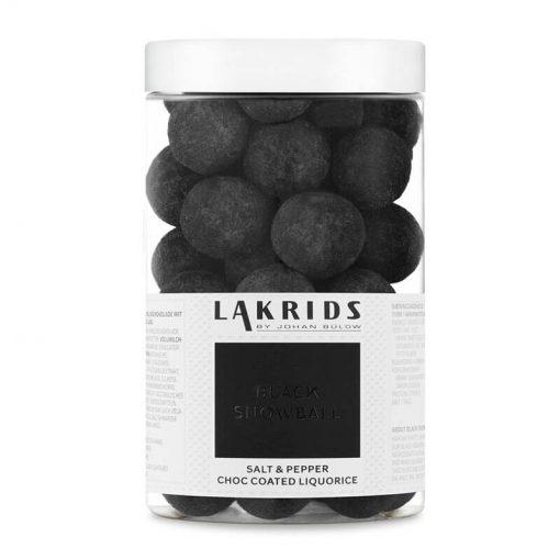 Lakrids by Johan Bülow Lakrids Black Snowball Regular Salt & Pepper Choc Coated Liquorice