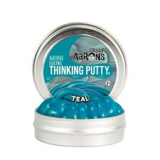 Crazy Aarons Thinking Putty Electric Teal mini