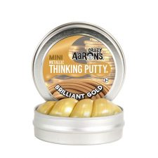 Crazy Aarons Thinking Putty Metallic Brilliant Gold mini