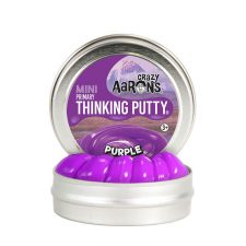 Crazy Aarons Thinking Putty Primary Purple mini