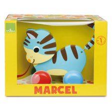 Vilac Dragdjur Katten Marcel i kartong