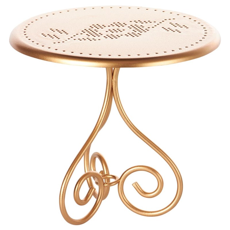 Maileg Vintage Coffee Table Gold